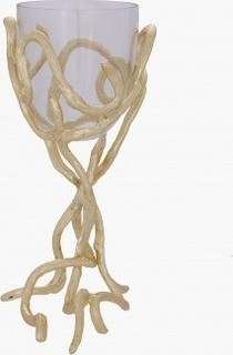 Twine Votive Candle Holder - 28.50x17.50x35.50 cms