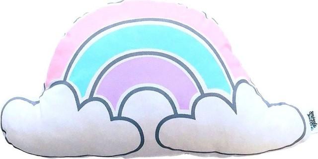 Joba - Pastel Rainbow Cloud Cushion
