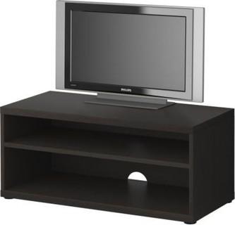 MOSJOe TV bench, black-brown