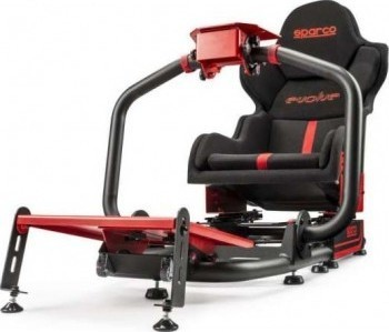 Sparco Car Racing Simulator - Evolve Compatible pedalsets:Thrustmaster: T3PA, T3PA PRO Logitech: G25, G27, G29, Driving Force PRO, Driving Force GT Fanatec: Clubsport V3 + inverted   G01985ZNRRS