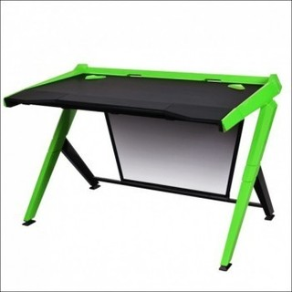 DXRacer Gaming Desk Black Green | GD 1000 NE