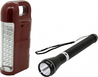 Sonashi Rechargeable Emergency Lantern And LED Torch Combo - SEL-3366 109