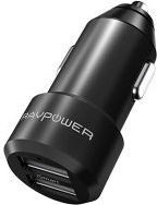 RAVPower USB Dual Port Black Car Charger