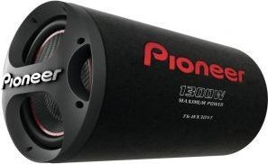 Pioneer 1300W Bass Reflex Sub with Tube Enclosure Box - TSWX305T