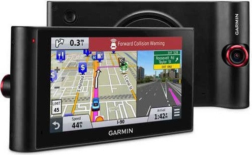 Garmin All-In-One NuviCam LM GPS Navigation With Built-in Dash Cam And Driver Awareness Features