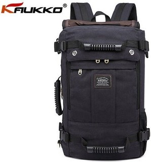 Kaukko New Multifunction Large Capacity Backpack - Black