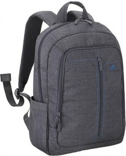 Riva Case 7560 Laptop Canvas Backpack 15.6