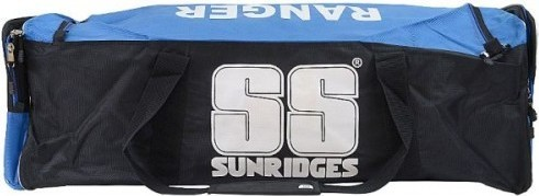 SS Sunridges Ranger Cricket Bag - Black Blue, 10020007B