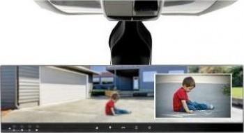 Merlin Bluetooth Car Mirror -Premium with Rear view Camera