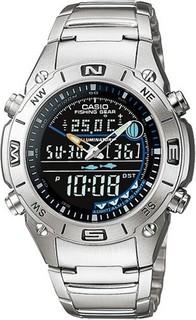 Casio Out Gear Fishing Gear Stainless Steel Watch for Men - AMW-703D-1AV