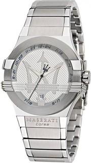 Maserati Potenza Men's Quartz Silver Dial Silver Bracelet R8853108002