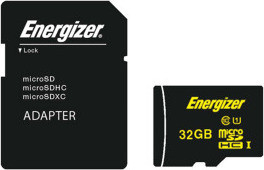 Energizer High Tech 32 GB Micro SDHC With Adapter - FMDAAH064A