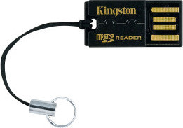 Kingston USB Micro SD Reader FCR-MRG2, Black