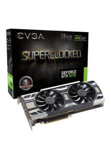 EVGA GeForce GTX 1070 SC GAMING ACX 3.0, 8GB GDDR5 (256 Bit), HDMI, DVI, 3xDP