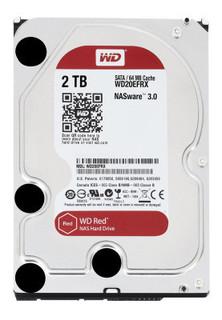 Western Digital WD WD20EFRX 2TB Internal Hard Drive, Red