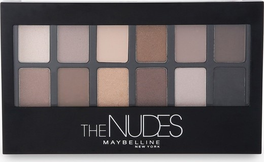 Maybelline The Nudes Eyeshadow Palette - 41554419184 Multicolor, 0.34 OZ