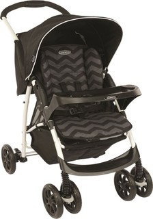 Graco STRMIRAGE PLUS SOLO BLACK ZIGZAG