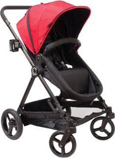 Kolcraft Bliss 4 in 1 Stroller System, Pink Black
