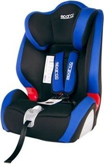 F1000K Sparco Child Seat Polyester-Mesh Blue