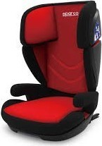 SPARCO F700i CHILD SEAT (RED)