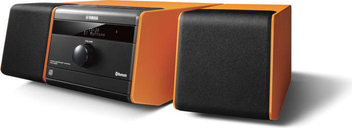 Yamaha Micro Component System CD USB Blutooth FM AUX in Clock Alarm 15W x 2 MCRB020 - Orange