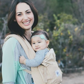 Ergo Baby ErgoBaby Baby Carrier With Hood - Camel