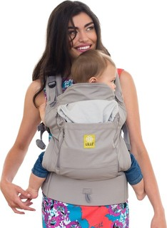LILLEbaby Essentials All Seasons Baby Carrier Stone