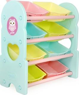 iFam - Briring 4 Shelves Toy Organizer - Mint