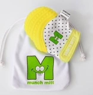 Munch Baby Inc. Munch Mitt Mini - Yellow