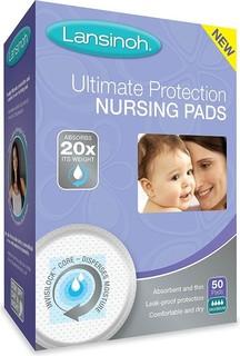 Lansinoh - Protection Nursing Pads - Day Nighttime-50 Count