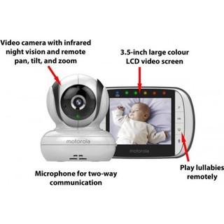motorola digital video baby monitor mbp36s price in dubai uae compare prices. Black Bedroom Furniture Sets. Home Design Ideas