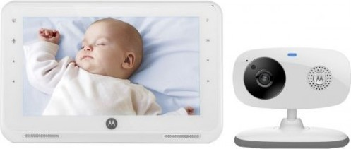 Motorola MBP867 7-inch LCD Digital Video Baby Monitor
