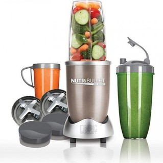 Magic Nutri Bullet Pro 900 series 9 Piece Silver Superfood Nutrition Extractor