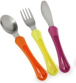 Tommee Tippee -Explora First Grown Up Cutlery Set Girls-Pink