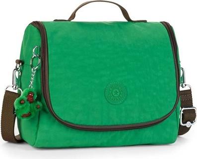 Kipling New Kichirou Mojito Green C School Lunch Bag