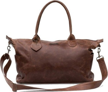 JoBa Mally Leather Nappy Bags - Brown