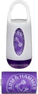 Munchkin Arm and Hammer Diaper Bag Dispenser - Purple