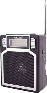 Sonashi Portable Radio Black - SRR-86-USR 45