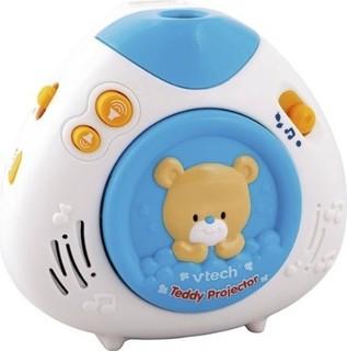 VTech Lullaby Teddy Projector - Blue