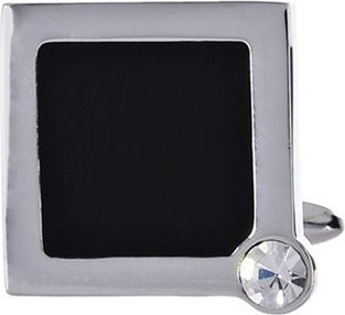 Philippe Moraly Cufflinks Stainless Steel For Men's Silver - PMS082W 159