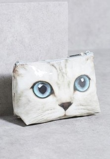 Catseye Kitty Cosmetic Bag