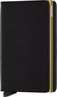 Secrid Slim Wallet Crisple Black Gold
