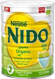 Nestle - NIDO One Plus Organic Growing up Milk Powder - 800g