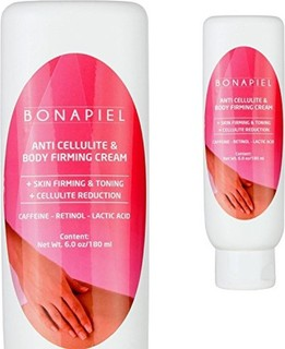 Bonapiel Anti Cellulite Treatment & Body Firming Cream - With Retinol & Caffeine - 6 OZ Cellulite Remover