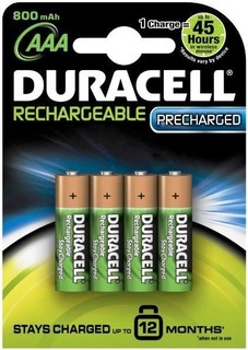 Duracell RCH AA4s (POME)