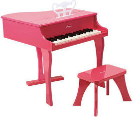 Hape Pink Happy Grand Piano E0319 Musical Toy