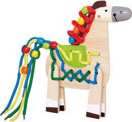 Hape E1016 Lacing Pony Toy