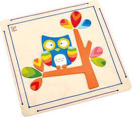 Hape Hoot Owl Paint and Frame [E5111]