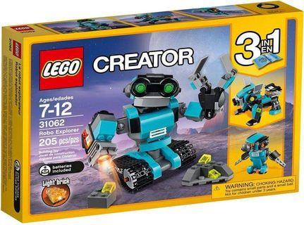 Lego Technic Robo Explorer Building Toy - 31062