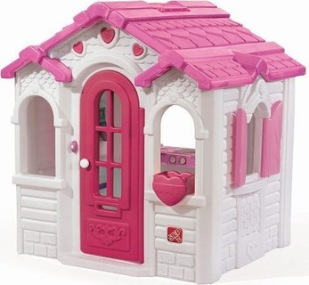 Step2 Sweetheart Playhouse - 851900, Pink White